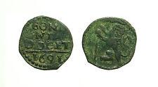 pci3439) Bologna INNOCENZO XII° (1691-1700) Quattrino c/ Leone vessillifero 1691