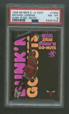 Michael Jordan 1998 Skybox Ex Century Dunk'n Go-nuts PSA 8 NM-MT