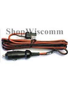 Motorola OEM Fused Power Adapter Cigarette Lighter CDM1250 PM400 CM300 SM50