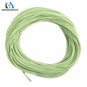 Maxcatch Floating Fly Line Weight Forward WF1/2/3/4/5/6/7/8F With 2 Welded Loops
