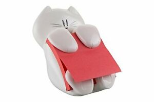 Post-it Z-Note Dispenser with Cat Design Fun Sticky Notes Dispenser Incl. 1 Pad