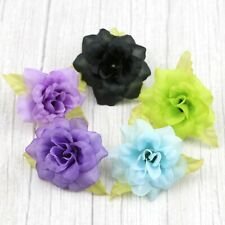"30Pcs 2"" Small Rose Bulk Artificial Silk Flower Heads Wedding Home Crafts Decor"