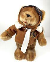 Flight Teddy Bear Talking -2003 100th Anniversary of Wright Brothers__Pilot Gift