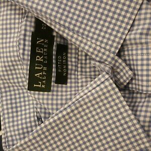 New fitted Non iron luxury Ralph Lauren shirt Size: 17