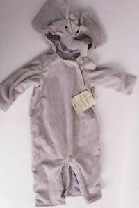 NWT Pottery Barn Kids Baby Elephant costume 12-18 month Halloween