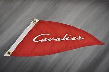 Chris Craft boat burgee pennant flag - Cavalier