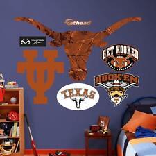 "Texas Longhorns UT NCAA Fathead Realtree Logo Real Big Wall Decals 44""W x 39""H"