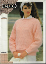 c3ab1e7bcbfcc4 Women s Textured Sweater Crucci 254 knitting pattern 8 ply yarn