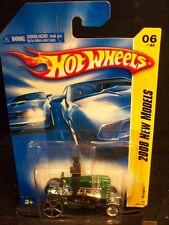 HOT WHEELS 2008 FE #6 -196-1 DRAGTOR GREN AMER NM CA