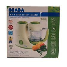 BEABA 4 in 1 Steam Cooker - Blender BABYCOOK Babyfood Maker MSRP $150