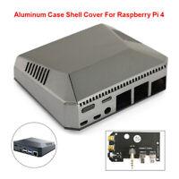 Multifunction Case Shell Box For Raspberry Pi 4 Model B Cooling Fan Heat Sinks