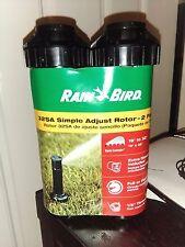 Rain Bird 32SA 2 PKRoto Sprinkler Professional Grade 40 to 360 deg 19' to 32'