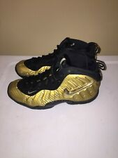 Air Nike Foamposite Pro Metallic Gold (Gs) - 644792-701 Size 4Y Good Condition