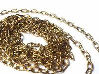 2 chaînes pour Coucou - Maillon : 6,65 x  3,65 mm avec crochets et anneaux