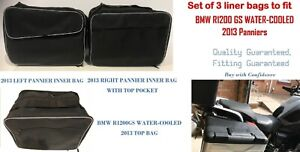 PANNIER LINER BAGS & TOP BOX BAG FOR BMW R1200 GS WATER-COOLED LC 2013 ONWARDS