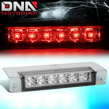 FOR 2003-2017 EXPRESS/GMC SAVANA FULL LED 3RD TAIL THIRD BRAKE LIGHT/LAMP CHROME