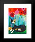 Summertime 14x16 Black Wood Framed Art Print by Rosina Wachtmeister