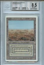 MTG Revised Dual Land Scrubland BGS 8.5 NM-MT+ Magic Card WOTC 8515
