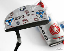 "ODYSSEY MILLED COLLECTION 6M PUTTER 34"" + COVER - NEW #C758"