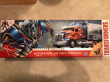 Transformers Platinum Edition Optimus Prime & Sideswipe