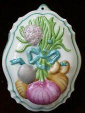 Franklin Mint Le Cordon Bleu Jelly Mould Onions 1986