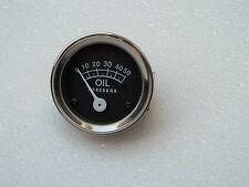 "Universal 50 psi mechanical Oil pressure Gauge 1/8"" npt thread"