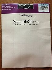 Exciting! Worthington Long off black sheer toes pantyhose