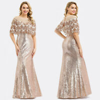 Ever-Pretty Long Sequins Formal Pageant Prom Gowns Celebrity Evening Party Dress