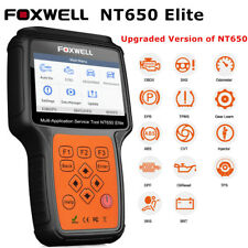 Foxwell NT650 Elite OBDII Diagnostic Scanner ABS SAS EPB Injector Oil Reset Tool
