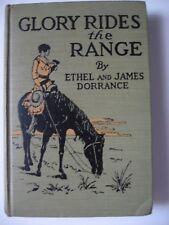 New listing Glory Rides the Range Redheads Dedication 1920 Hc Ethel James Dorrance