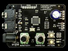 Nootropic Lumazoid Music Visualizer for Neopixels