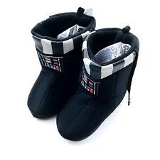 44db121efda4af Disney Store Star Wars Darth Vader Slippers Size 7 8 Boys Youth Black Cape