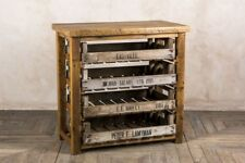 VINTAGE STYLE KITCHEN STORAGE UNIT WITH ORIGINAL PULL OUT DRAWERS