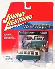 JOHNNY LIGHTNING R2 VOLKSWAGEN 1966 21 WINDOW VOLKSWAGEN SAMBA BUS cr