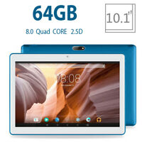 "10.1"" Android 8.0 4GB+64GB Tablet PC 8-core RAM WIFI bluetooth 4.0 2 SIM Card!"