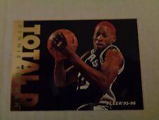 Dennis Rodman 1995-96 Fleer #11 Total D Insert Basketball Card NM/M SPURS