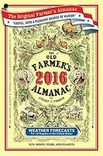 THE OLD FARMER'S ALMANAC 2016 NEW! PAPERBACK FREE SHIPPING!