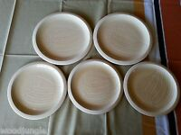 5 pc FRANCISCAN WARE USA SEA SCULPTURES THE CONCH SHELL PLATES DINNER LUNCH SAND