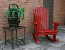 Muskoka Rocking Chair Plans - Full Size Patterns