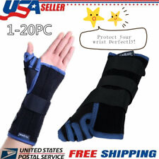 Adjustable & Breathable Mesh Thumb/Wrist/Palm Support Brace Soft Lightweight WO