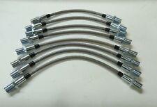 Stainless Steel Brake Hose Kit 8-PC Fits Ferrari 365 GT4 BB 512 BB GTB4 512 BBi