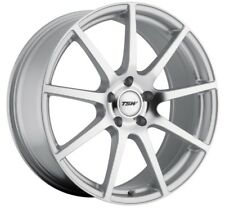 19x8.5 TSW Interlagos 5x112 Rims +32 Silver Wheels (Set of 4)