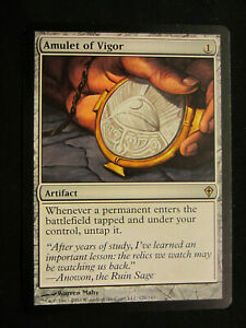MTG Worldwake AMULET OF VIGOR Magic ***SEE PICS AUC (1020102)