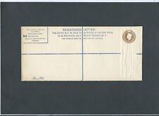 GB Postal Stationery 1940 KGVI 51/2d brown Registered Envelope size H2 RP52