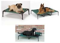 RAISED PET COTS - Elevated Outdoor Dogs Bed - 2 Styles & 4 Sizes of Dog Beds