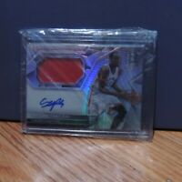 2016-17 Pascal Siakam Rookie Patch Auto Card RPA Silver Prizm Holo #85/300