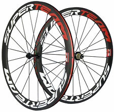 50mm Clincher Road Bike Carbon Wheels Bicycle Carbon Wheelset 700C US In Stock
