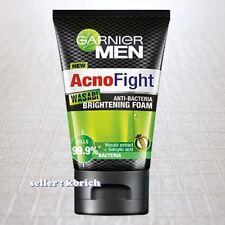 100 g. Garnier Men ACNO Fight WASABI Anti Bacteria Foam Face Wash 1x100g.