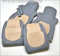 DAF  SEAT COVERS DAF IN BEIGE / GREY  [TRUCK PARTS & ACCESSORIES]