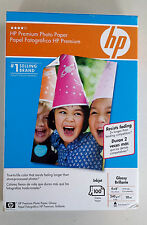 "HP Premium Photo Paper Glossy Inkjet  4"" x 6"" 100 Sheets Q1990A"